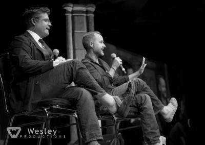 Sean Astin and Billy Boyd- Fantasy Con 2014-9711