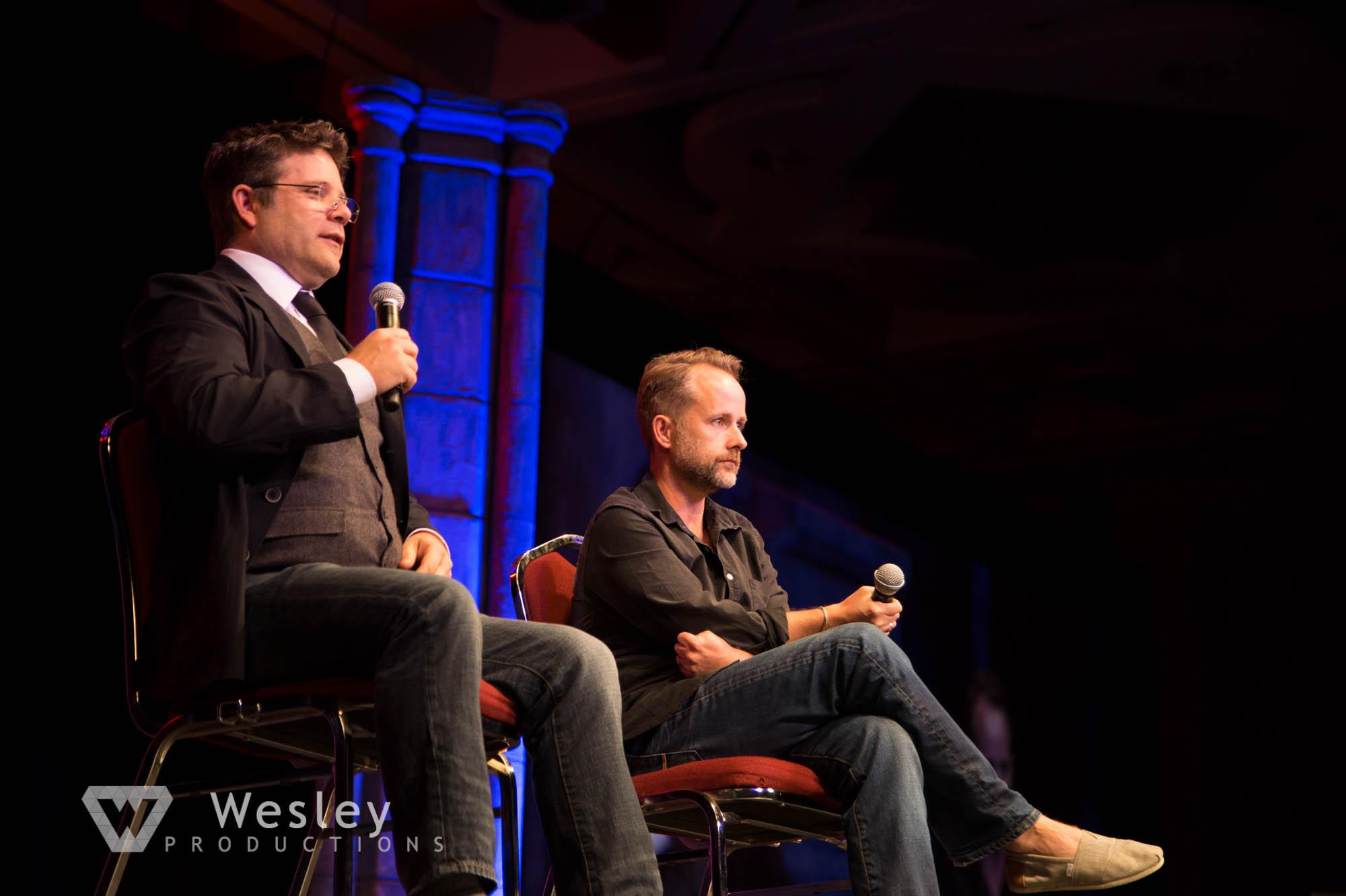 Sean Astin and Billy Boyd- Fantasy Con 2014-9724