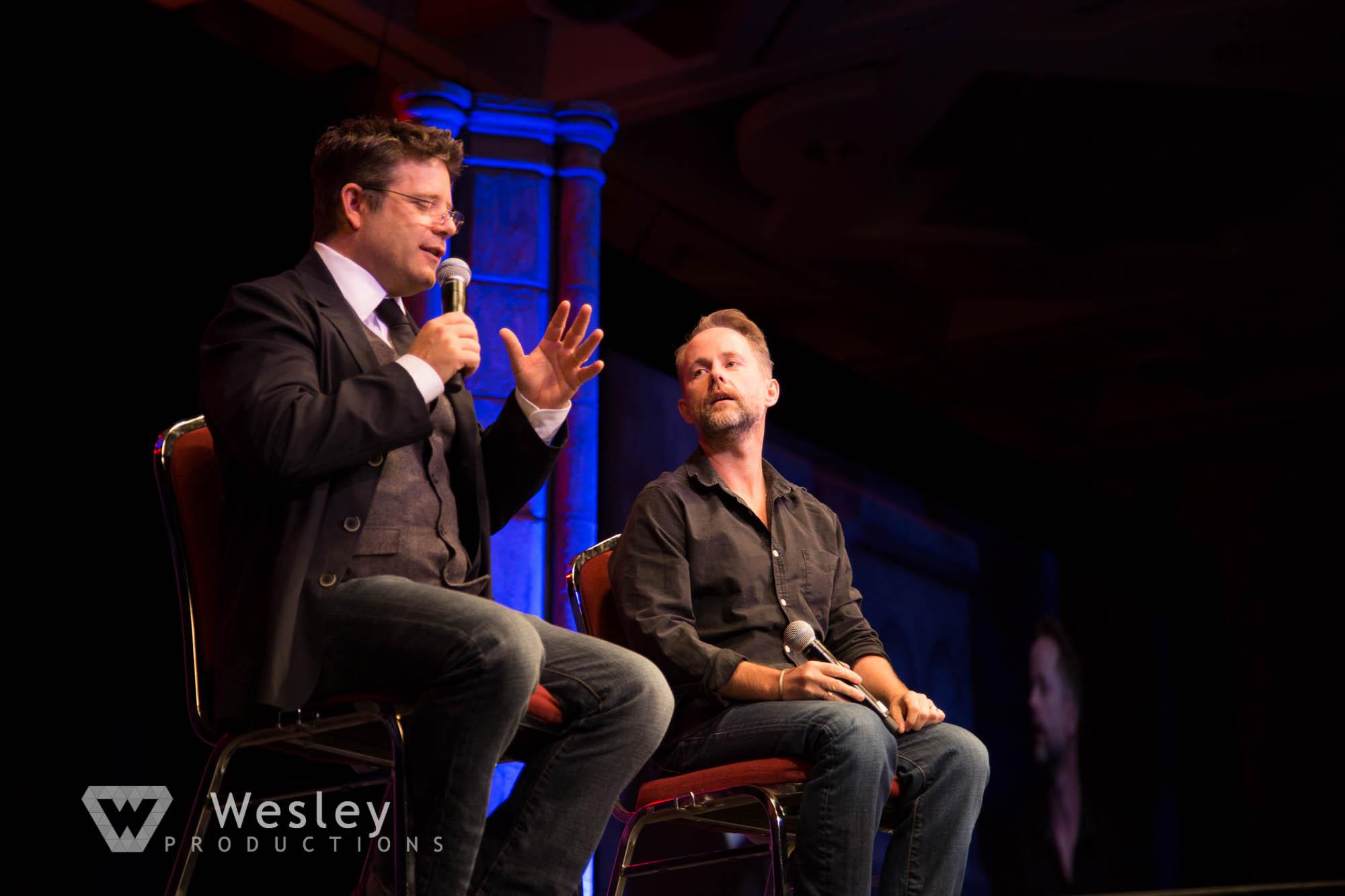 Sean Astin and Billy Boyd- Fantasy Con 2014-9726