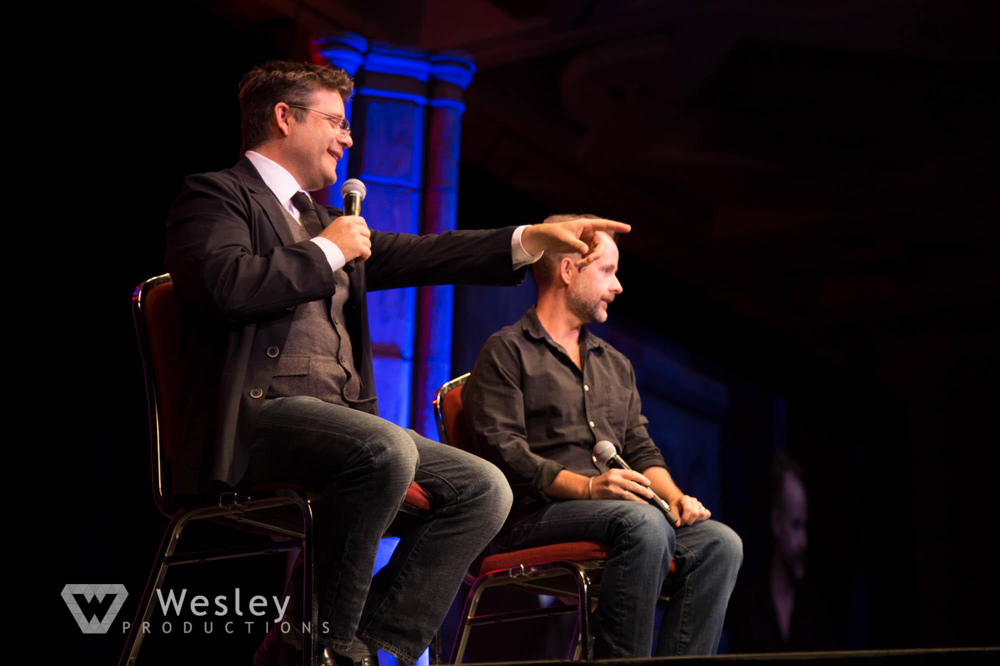 Sean Astin and Billy Boyd- Fantasy Con 2014-9729