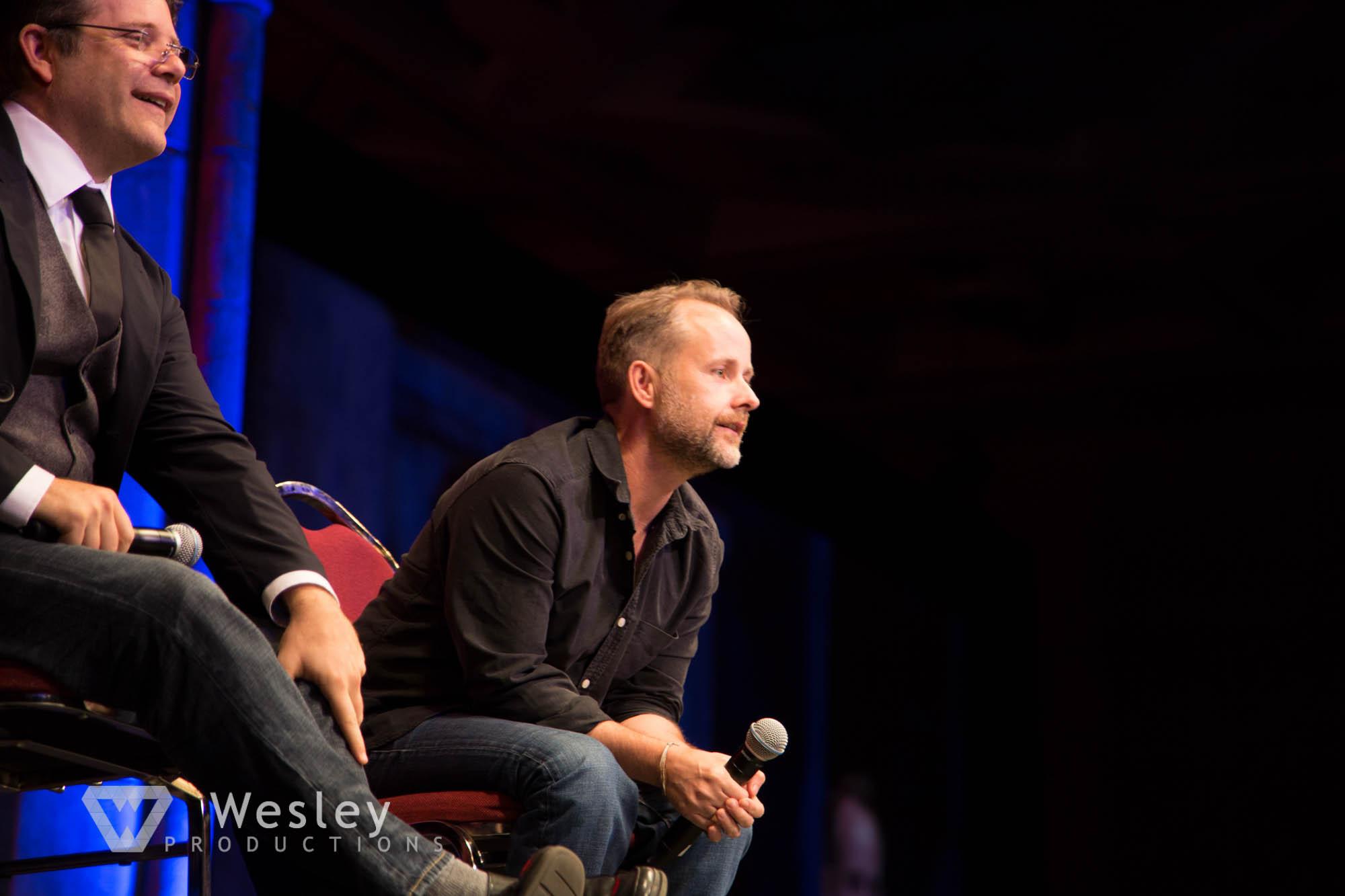 Sean Astin and Billy Boyd- Fantasy Con 2014-9734
