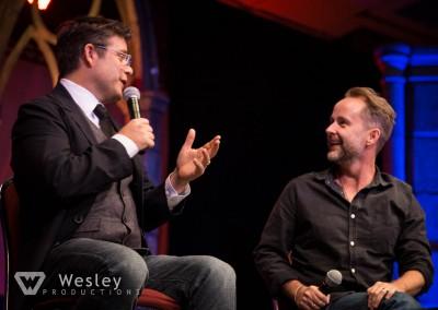 Sean Astin and Billy Boyd- Fantasy Con 2014-9760