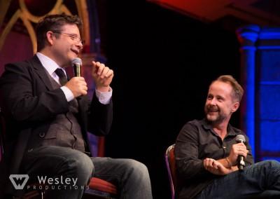 Sean Astin and Billy Boyd- Fantasy Con 2014-9765