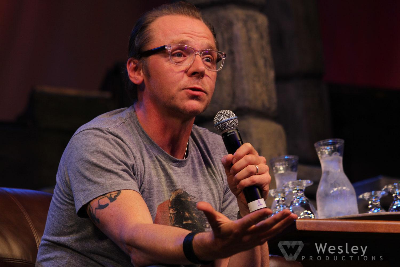 Simon Pegg SLC Fantasy Con 2014 -9736