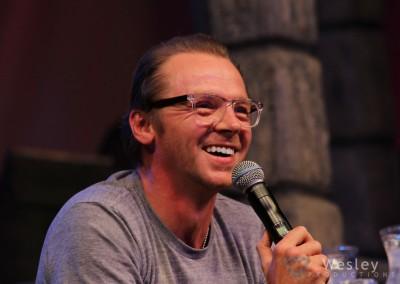 Simon Pegg SLC Fantasy Con 2014 -9743