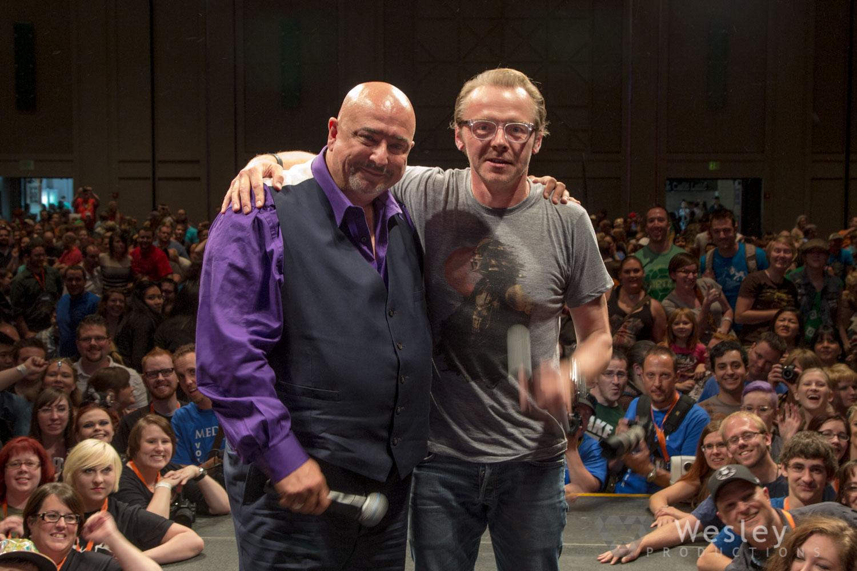Simon Pegg SLC Fantasy Con 2014 -9875